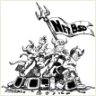 netbsd black and white logo