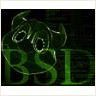 green bsd background